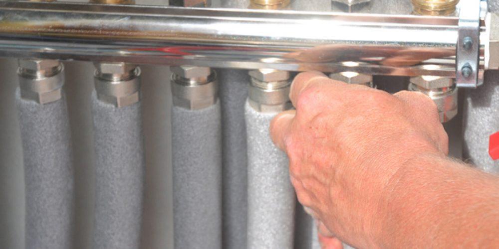 L'isolation de réseaux d'eau chaude et de chauffage