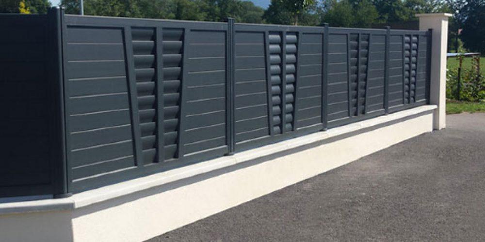 Portails et clôtures aluminium sur-mesure