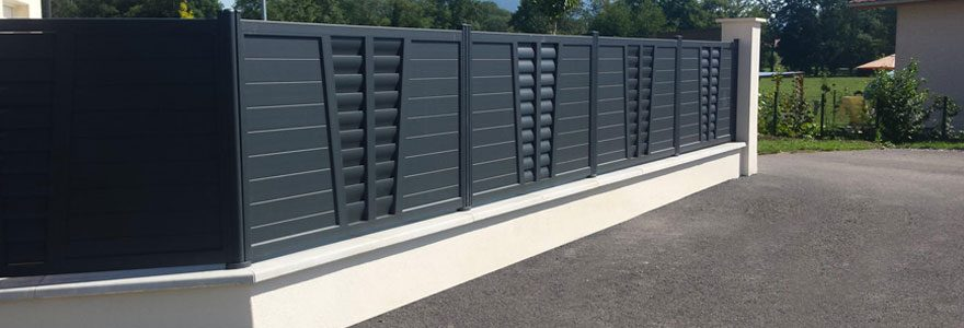 clôtures aluminium
