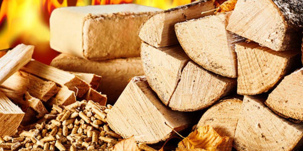 Vente en ligne de différents bois de chauffage