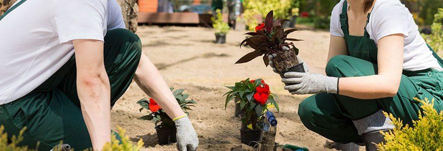 Jardiniers professionnels