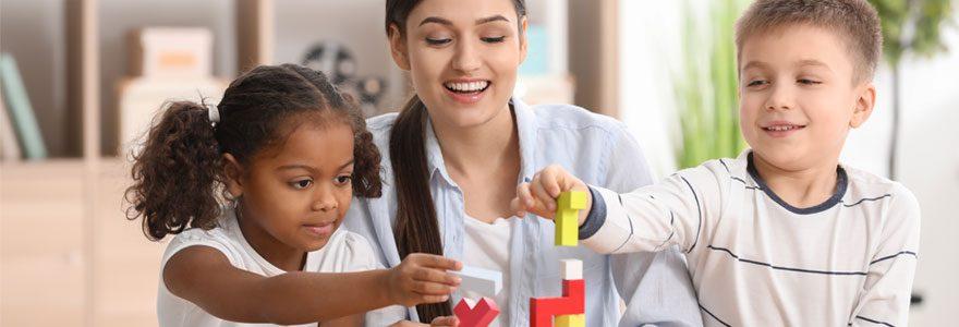 Les services de garde d'enfant à domicile