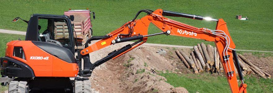 matériel de chantier Kubota