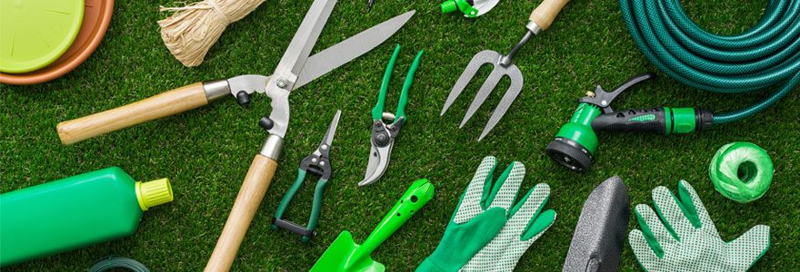 matériel de jardin