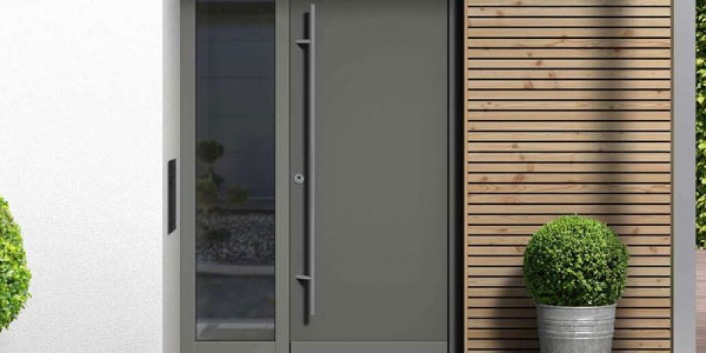 Porte d'entrée en aluminium : quels avantages ?