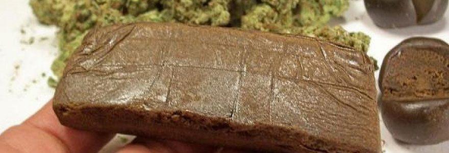 résines de cannabis