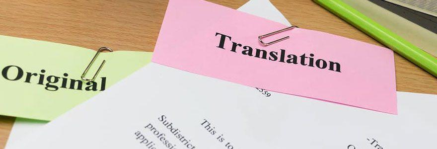 Traduction assermenté d'extrait de casier judiciaire