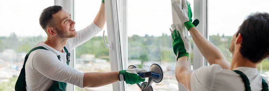 Une fenêtre sur mesure en PVC